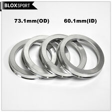 4pcs ID56.1mm OD73.1mm Hubcentric rings for Toyota Lexus Aluminum center rings