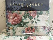 Extremely Rare Ralph Lauren Vanessa Ruffled Flat Sheet~ New In Package