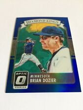 2016 Donruss Optic Brian Dozier /149 Blue Diamond Kings Refractor Nationals SP