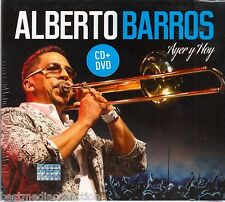 1 CD + 1 DVD Alberto Barros CD NEW Ayer y Hoy EN VIVO BRAND NEW