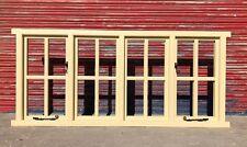 Traditional Wooden Timber Cottage Style Quadruple Casement Window, Bespoke