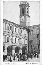 1856) PIAZZA DI MONTENERO (LIVORNO) . ANIMATA.