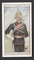 COPE - EMINENT BRITISH REGIMENTS (BROWN) - #14 13TH DC LANCERS, WATSON'S HORSE