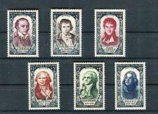 Francia / France 1950 Celebrità del XVIII secolo 2° serie (1)  MNH