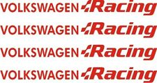 PEGATINAS/STICKERS/ COCHE Volkswagen Racing VW GOLF