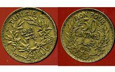 TUNISIE  50 centimes 1941 -