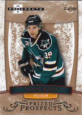 07-08 FLEER HOT PROSPECTS TOMAS PLIHAL RC RED /100 #194