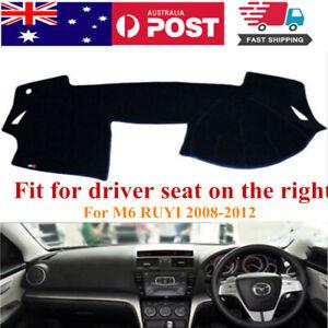 RHD Dash Mat Dash Cover Dashboard No Slips For Mazda 6 M6 Ruyi 2008-2012