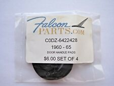 1960-65 Falcon Door Handle Pads Parts C0DZ-6422428 Set 4 New Classic Cars