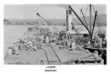 ss CASINO at APOLLO BAY Wharf  c1920-30 modern digital photo Postcard