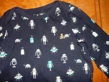 Ln 18-24M Baby Gap RoBoTs Long Sleeve Brannan Bear Bodysuit Short