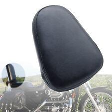 Universal Motorcycle Sissy Bar Backrest Cushion Pad For Harley Chopper Cruiser