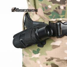 UltraFire Rotatable Belt Clip Nylon Flashlight Holster Pouch for Fenix Olight