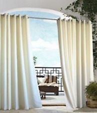 "*Outdoor Decor Gazebo Grommet Panel for Outdoor living 50""W x 108""L Natural NEW"