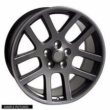 """4 New 22"""" Wheels Rims for 2004 - 2009 Dodge Durango & 2005 - 2011 Dakota - 24180"""