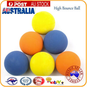 24pcs High Bounce Hand ball Multi-Color Square Rubber Balls Play Toy Kid Pet Dog
