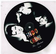 INDOCHINE   Le baiser   Picture disc    7'  SP 45 tours