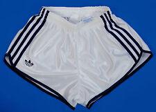 Vintage Adidas Shiny Nylon Sprinter Shorts Glanz Sporthose size XS-S Note Slim