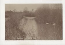 The Medway Forest Row Sussex Vintage RP Postcard 563b