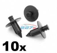 10x 7mm Push Fit Plastic Trim Panel Clips- Same as Toyota 90467-07043-C0