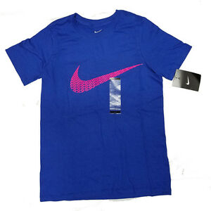 Brand New NWT Nike Boys Youth Kids Graphic T Shirts Tee athletic multiple colors
