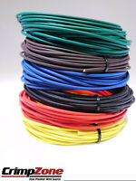 150 FEET 20 GAUGE GXL HIGH TEMP AUTOMOTIVE PRIMARY WIRE 6 COLORS 25 FT EACH
