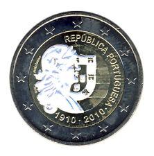Portugal - 2 euro 2010 - 100 años república-holograma (12356/41n)