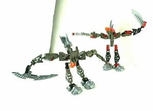 LEGO Bionicle Ball Joint Assembled Creature Figure Fighter Warrior Weapon Man #3