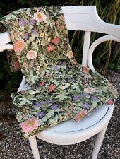 More details for superb pair of vintage pat albeck italian garden long curtains- 1m x 2m each.