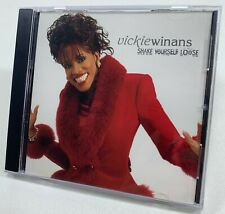 Vickie Winans - Shake Yourself Loose | Promo CD 2003 Single RARE OOP Funk Soul