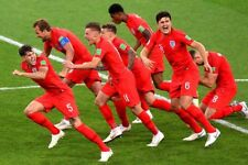 England football soccer team World Cup 2018 Russia photograph picture art print