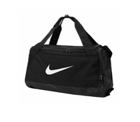 Nike Jordan Brasilia Small Duffel Training Gym Bag BA5335 010 Shoe Pocket New