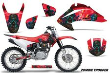 Honda CRF 150/230F Graphic Kit AMR Racing Decal Sticker Part 03-07 ZOMBIE RED