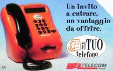 G 860 C&C 2944 SCHEDA TELEFONICA USATA IL TUO TELEFONO