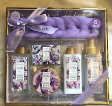 Spa Luxury Gift Set in Lavender 6 Pieces Kits Premium Bath and Body Spa Products