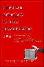 Popular Efficacy in the Democratic Era: A Reexamination of Electoral A-ExLibrary