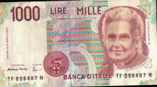 BANCONOTA REPUBBLICA ITALIANA DA 1000 LIRE Fazio-Amici 32-41