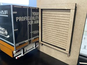 1/50 Loading Dock Roll Up Bay Door for Shops Buildings Tractor Trailer Semi Vans