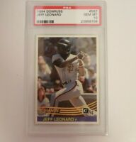 1984 Donruss Baseball Card #567 Jeff Leonard San Francisco Giants PSA 10