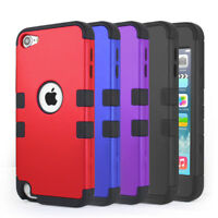 For iPod Touch 5th 6th 7th Gen Case Shockproof Bumper Protective Skin Cover Film