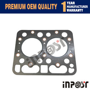 Z750 Head Gasket For Kubota Engine Set L1801 L1500 L1501 Tractor (Graphite)