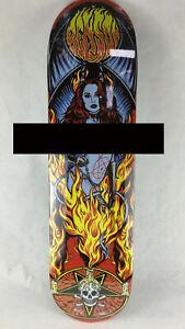 "Benson Devil Women Pro deck - Death Skateboards 8.5 "" with grip & free shipping"