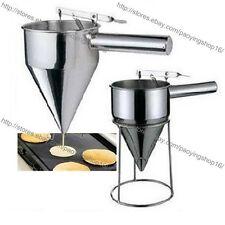 Stainless Steel Donut Poffertjes Taiyaki Cupcake Pancake Waffle Batter Dispenser