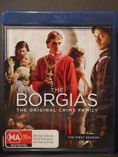 The Borgias: Season 1 (Blu-Ray, 3-Disc Set, Region B) gf11