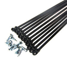 A/C Line Mounting Kit NEW Air Conditioning Line Hose UV Rated Cable Tie Kit