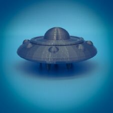 UFO Flying Saucer Alien Space Ship - O Scale 1:48 - Retro or Classic Style USA!