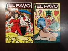 EL PAYO 2 dif mexican comic book from 70's vintage mexico historieta