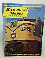 Railroad Model Craftsman Magazine November 1970 Z N HO S O G vintage