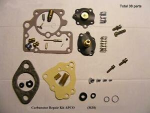 Carter carb NEW repair kit for Willys M38 jeep. Quality parts by NAPCO.Great kit