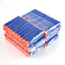 100Pcs Refill Foam Darts 7.2cm For Nerf N-strike Elite Series Blasters Toy Gun
